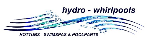 Logo hydro-whirlpools weiss